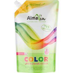 Almawin color folyékony mosószer koncentrátum színes ruhákhoz hársfavirág kivonattal - 20 mosásra 1500 ml