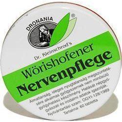 W.nervenpflege tabletta 60 db