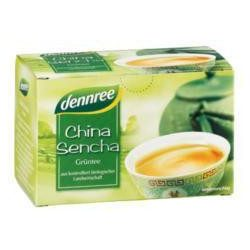 Dennree bio tea china sencha zöld 20x1.5g 30 g
