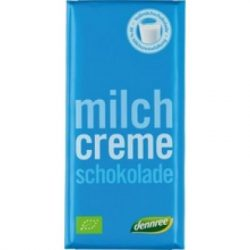 Dennree bio tejcsokoládé 100 g