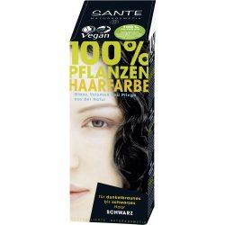 Sante Növényi hajfesték por - Fekete 100g
