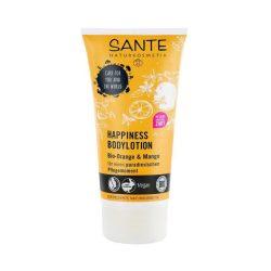 Sante Happiness testápoló bio narancs és mangó kivonattal 150 ml