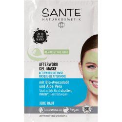 Sante bio afterwork gélmaszk nyugtató hatás 8 ml