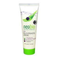 Neobio hidratáló krém 24 órás bio aloe vera, bio acai bogyó 50 ml