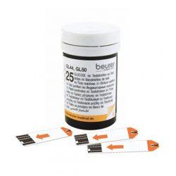 Beurer 50 Tesztcsík, egyesével csomagolva   GL 44 / GL 50 (evo) - nincs a katalógusban vércukorszintmérő