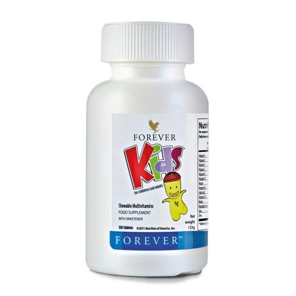 Forever Kids - Multivitamin rágótabletta gyerekeknek 120db