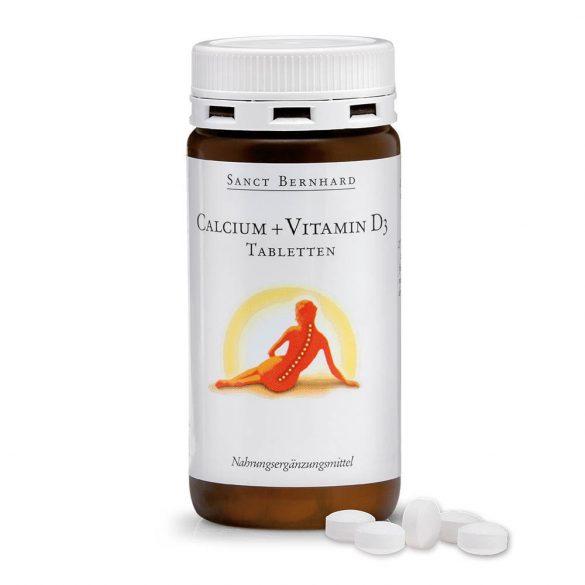 Sanct Bernhard kalcium+d3 vitamin tabletta 150 db