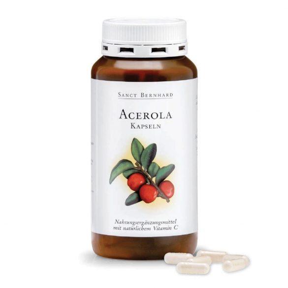 Sanct Bernhard acerola+c-vitamin kapszula 300 db