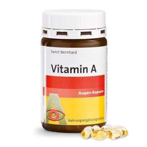 A-vitamin Szem S.Bernhard 180 db kapszula #99