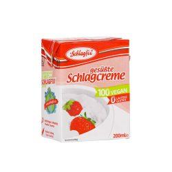 Schlagfix vegan habkrém 15% -  édesített 200 ml