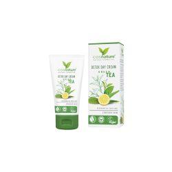 Cosnature Méregtelenítő nappali arckrém zöld teával