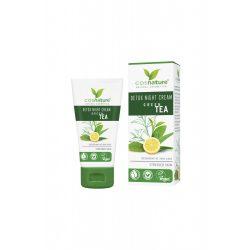 Cosnature Méregtelenítő éjszakai arckrém zöld teával