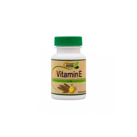 Vitamin Station vitamin e tabletta 100 db