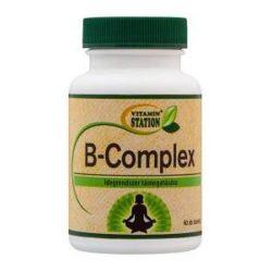 Vitamin Station b-complex tabletta 60 db