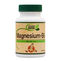 Vitamin Station magnézium b6 60 db