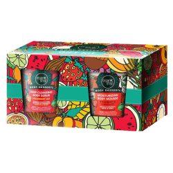 Organic Shop EPRES DESSZERTEK ajándékcsomag (testradír, testápoló mousse) 2 x 450ml