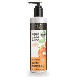 Organic Shop Aktív tusfürdő Grapefruit punch 280 ml
