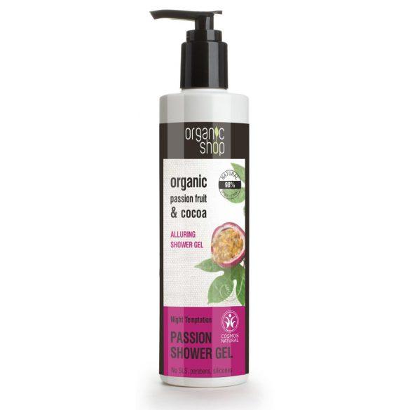 Organic Shop bio éjjeli csábítás kényeztető tusfürdő 280 ml