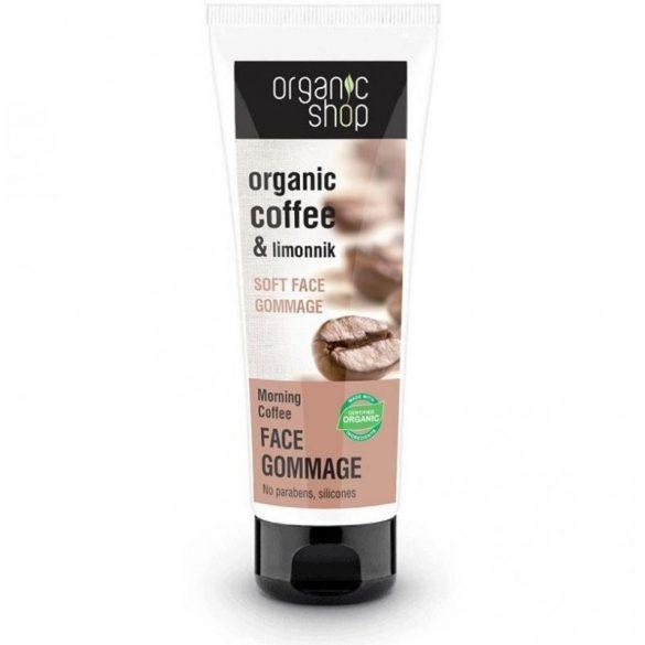Organic Shop bio arcpeeling reggeli kávé 75 ml
