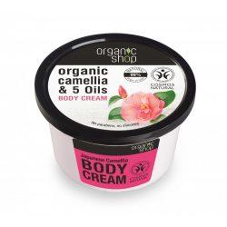 "Organic Shop ""Japán kamélia"" Testápoló 250 ml"