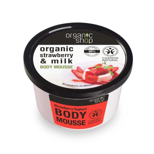 Organic Shop bio eper joghurt testápoló krém 250 ml