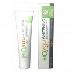 Bio2you natúr fehérító fogkrém homoktövissel,mentaolajjal,zs 100 ml