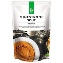 Auga bio vegán zöldséges minestrone leves 400 g