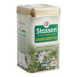 Stassen zöld tea jázmin fémdobozos 100 g