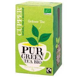 Cupper bio zöld tea 20 db 35 g