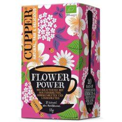 Cupper bio flower power élénkítő tea 20 db 35 g