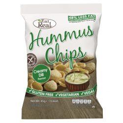 Eat Real hummus chips tejszínes-kapros 45 g