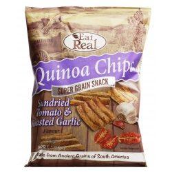 Eat Real quinoa chips napon szárított paradicsom, fokhagyma 30 g