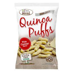 Eat Real quinoa és fodros kel snack - fehér cheddar sajtos 40 g