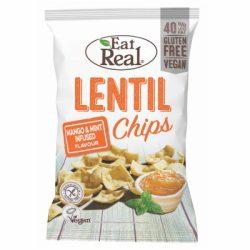 Eat Real lencse chips mangós-mentás 40 g