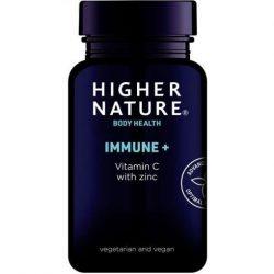 Higher nature immune + C-vitamin cinkkel tabletta 90 db