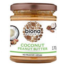 Biona bio kókusz-mogyoróvaj/krém 170 g