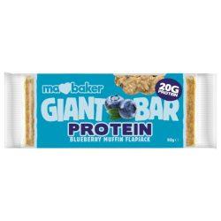 Ma Baker óriás zabszelet kékáfonyás muffin fehérje tartalmú 90 g
