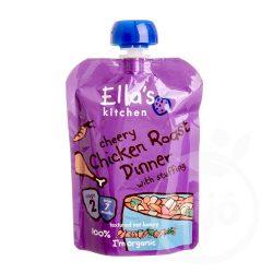 Ellas Kitchen bio sültcsirke vacsi bébiétel 130 g