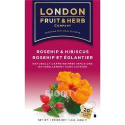 London csipkebogyó hibiszkusz tea 20x 40 g