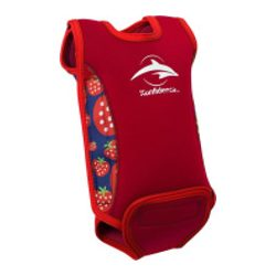 Konfidence Babywarma™ babauszóruha STRAWBERRY Teljesen szétnyitható baba úszóruha, ami körbeöleli és melegen tartja a kisbabát