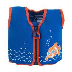 Konfidence Jackets™ gyermek úszómellény - CLOWNFISH   Rugalmas neoprén anyagú úszómellény 8 kivehető úszószivaccsal