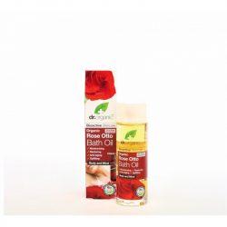 dr.Organic Fürdőolaj  bio damaszkuszi rózsaolajjal 100 ml