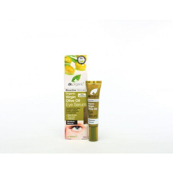 dr.Organic Szemkörnyék ápoló szérum bio olívaolajjal 15 ml