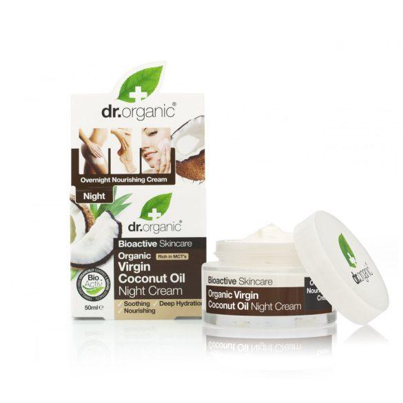 Dr.organic bio kókuszolaj éjszakai krém 50 ml