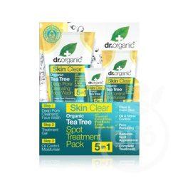 Dr.organic skin clear pattanáskezelő szett 5 az 1-ben 1 dob