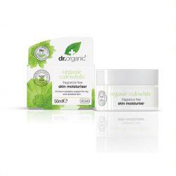 dr.Organic Illatmentes hidratáló krém bio körömvirággal