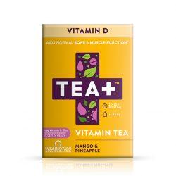 Vitabiotics tea+ vitamin tea d-vitamin 14 db, 30 g