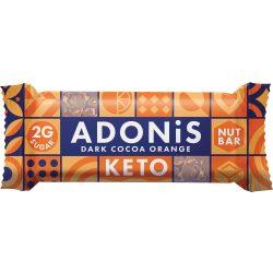 Adonis Keto Szelet Csokoládé-Narancs 35G