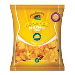 El sabor big nacho chips gluténmentes sajtos 225 g