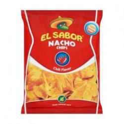 El sabor big nacho chips gluténmentes chilis 225 g